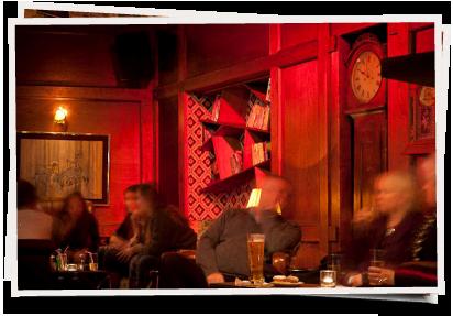 Mrs. Robinson Bar in Greystones interior